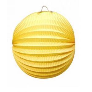 Balão Papel Amarelo 25