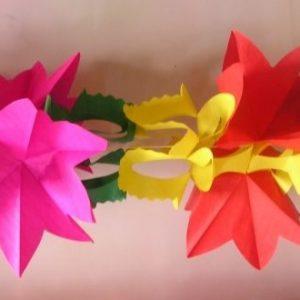 Harmónio de Papel Flores