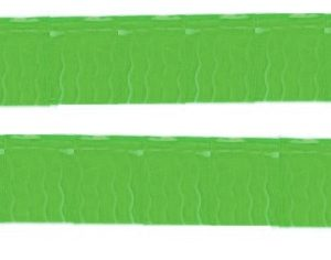 Bandeira Plástico franja Verde