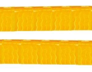 Bandeira Plástico franja Laranja