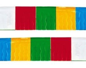 Bandeira Plástico franja Sortido