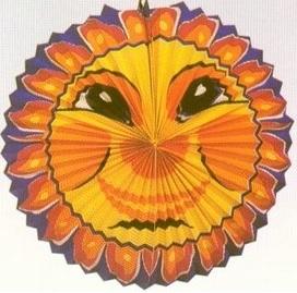 Balão Papel Sol 54