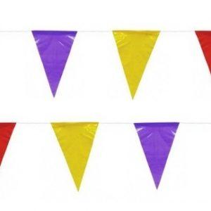 Bandeira Plástico Triângulo Sortido 10