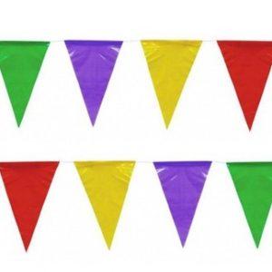 Bandeira Plástico Triângulo Sortido 25