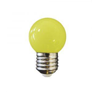 Lâmpada Led 1W E27 amarelo