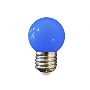 Lâmpada Led 1W E27 azul