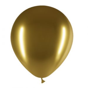 Balão Latex OURO BRILHANTE 12