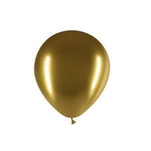 Balão Latex OURO BRILHANTE 5