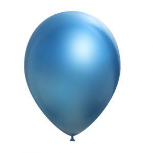 Balão Latex AZUL CROMO 14