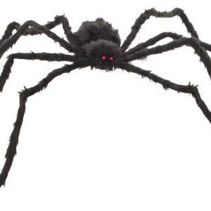 Aranha pata comprida preta 80cm