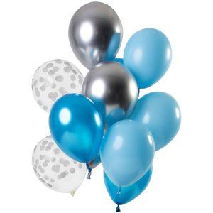 Balão Latex Aquamarine 12