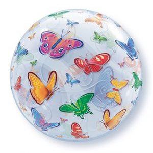 Balão Bubble BORBOLETAS 22