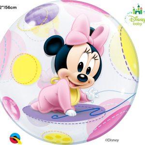 Balão Bubble BABY MINNIE 22