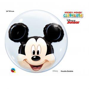Balão duplo Bubble MICKEY 22