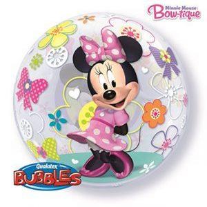 Balão Bubble MINNIE BOW TIQUE 22