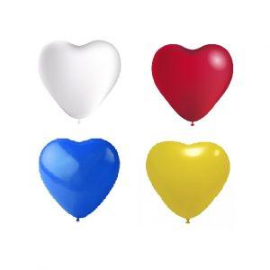 Balão Latex CORAÇÕES SORTIDA 10