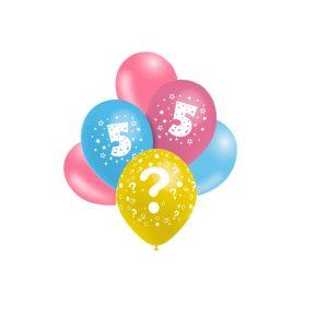 Balões Latex Impressos com números