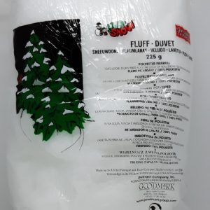 saco de neve artificial