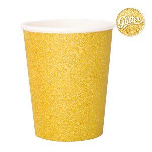 Copo de papel Ouro