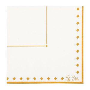 Guardanapos de papel Ouro