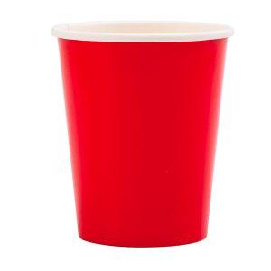 Copo de papel Vermelho
