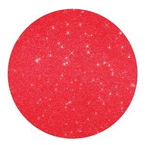 Marcador de mesa redondo vermelho