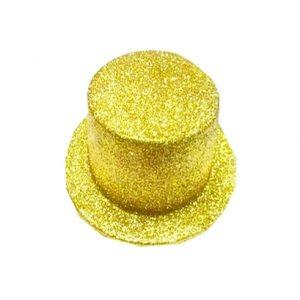 Cartola Adulto Ouro glitter