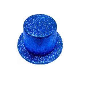 Cartola Adulto Azul glitter