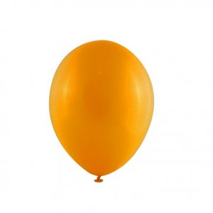 Balão Latex cor LARANJA Fluorescente 12