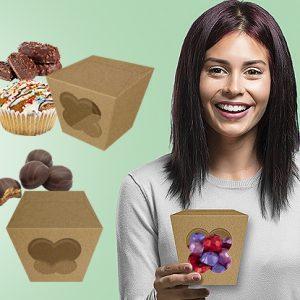 Caixa chocolate 9 cm