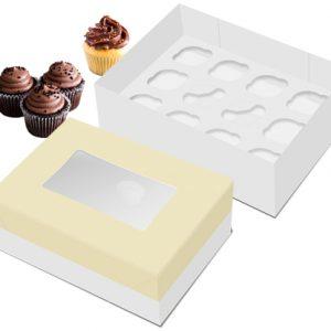 Caixa Retangular cupcakes 38 cm
