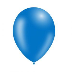 Balão Latex cor AZUL 10