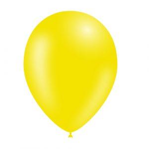 Balão Latex cor AMARELO LIMÃO 11