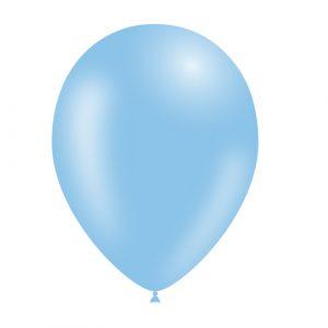 Balão Latex cor AZUL CELESTE 11