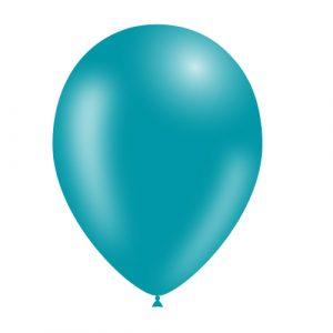 Balão Latex cor AZUL TURQUESA 11