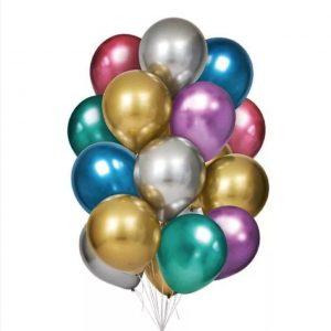 Balões Latex Liso com Brilho
