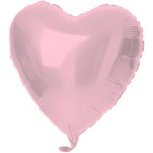 Balão Coração Foil ROSA MATTE 18