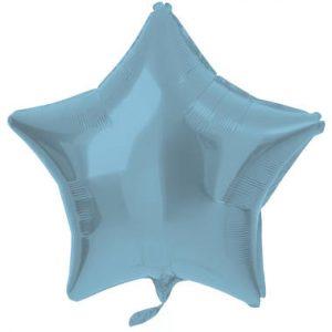 Balão Estrela Foil AZUL MATTE 18