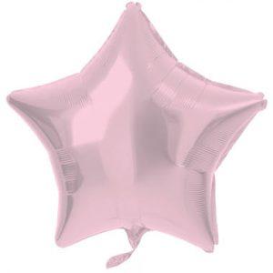 Balão Estrela Foil ROSA MATTE 18