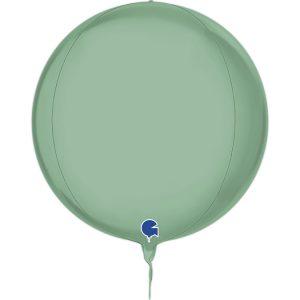 Balão Foil Esférico 4D Verde Tiffany