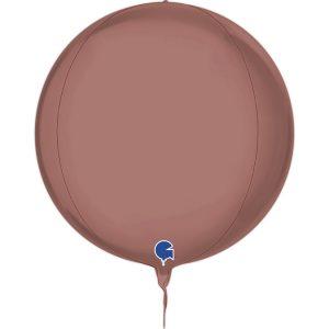 Balão Foil Esférico 4D Rose Gold