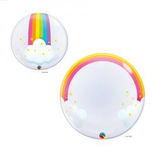 Balão Bubble Arco Iris 24