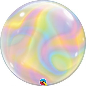 Balão Bubble Iridiscente 22