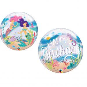 Balão Bubble Sereia 22