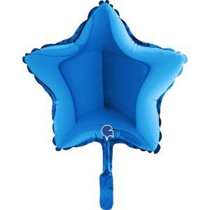 Balão Estrela Foil AZUL 9