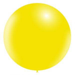 Balão Latex AMARELO LIMÃO 36