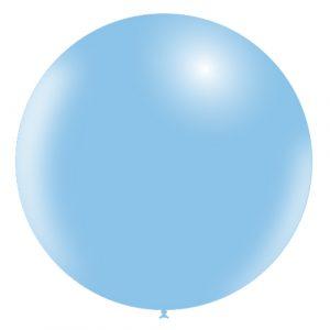 Balão Latex AZUL CELESTE 36