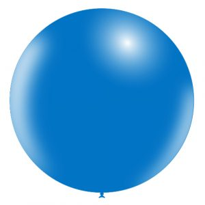 Balão Latex AZUL 36