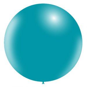 Balão Latex AZUL TURQUESA 36
