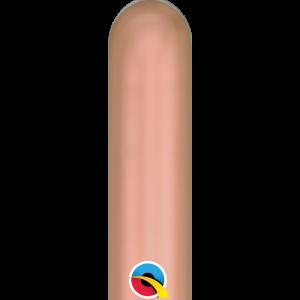 Balão Latex Modelar cor ROSE GOLD CROMO